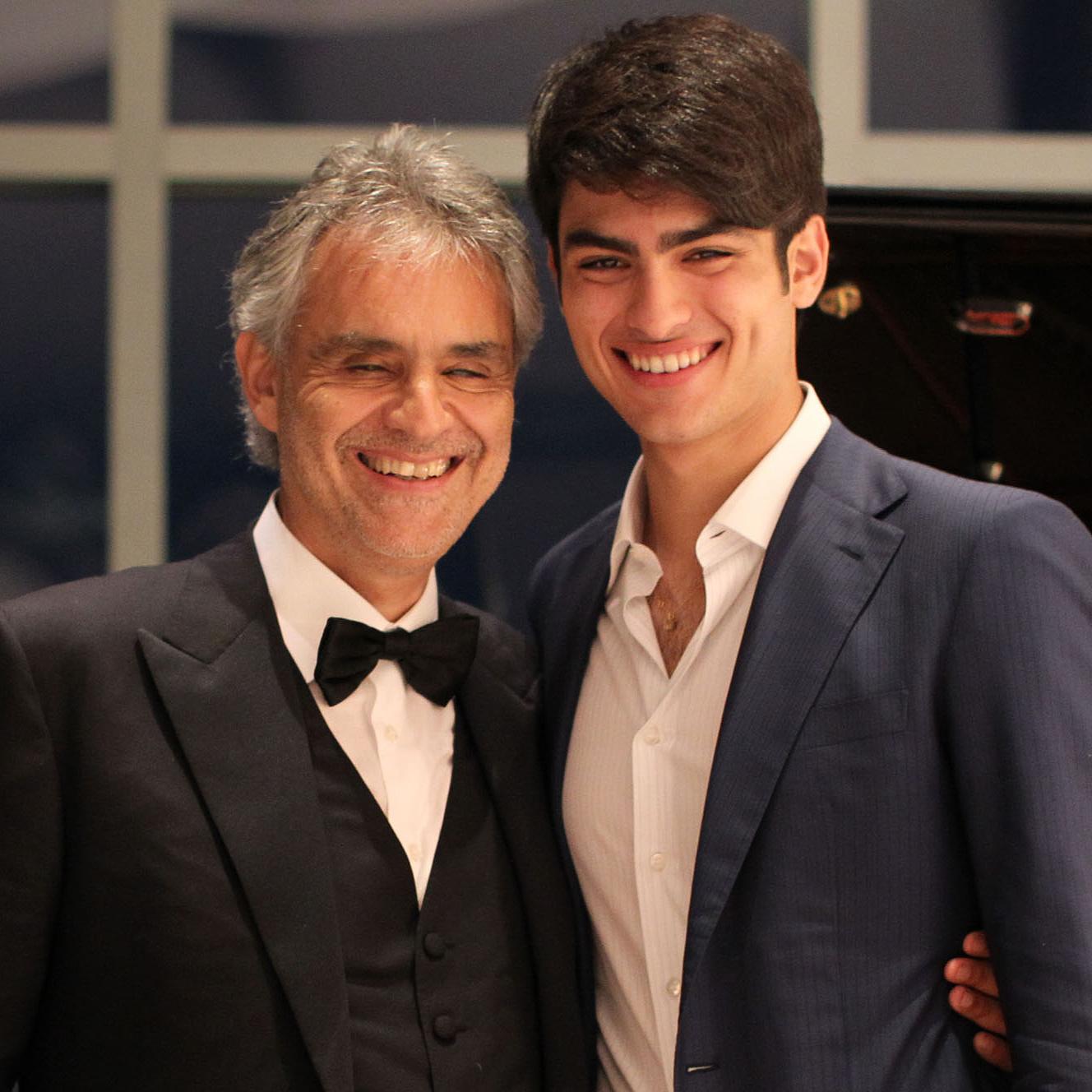 Andrea Bocelli a fiával énekel az új slágerlistás lemezén